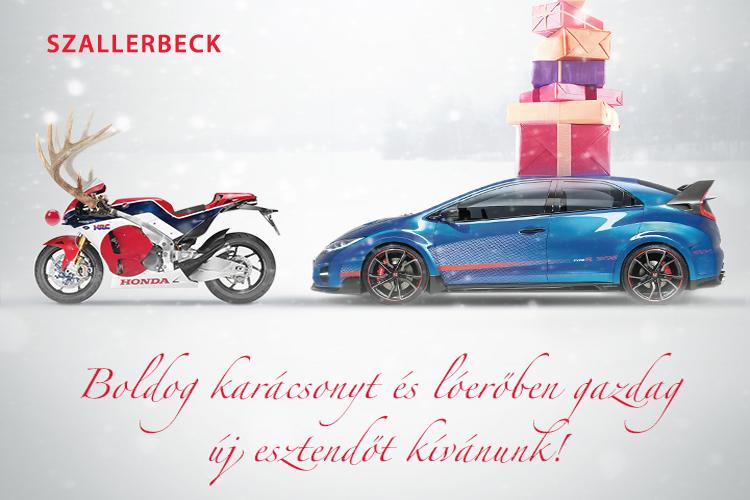 Boldog Karácsonyt és lóerőben gazdag új esztendőt kívánunk!