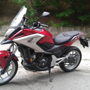 Színes eminenciás: Honda NC750X 2016 DCT teszt