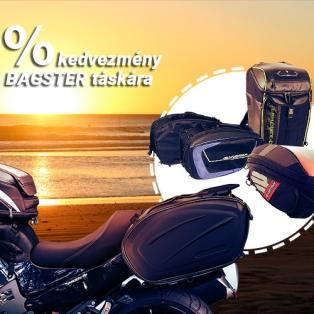 Most 20% kedvezményt adunk minden BAGSTER táskára! Az akció meghosszabítva, visszavonásig érvényes!