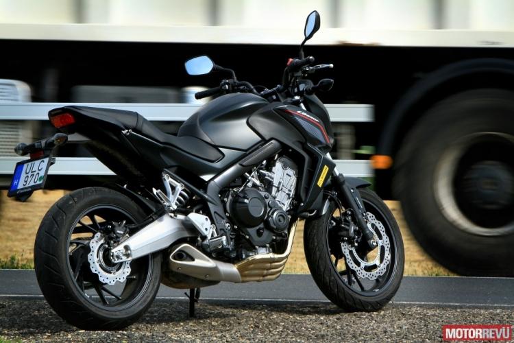 Honda CB650F - Okos ember motorja