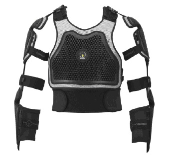 Forcefield Extreme Harness/ Teljes felsőtest protektor Extreme Harness Adventure (FEHA)