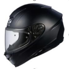 Aeroblade bukósisak (zárt) - egyszínű (Flat Black) Aeroblade bukósisak (zárt) - egyszínű (Flat Black)