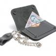 Bőr pénztárca, rövid 3 részes - Pénztárca