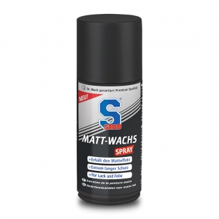 Matt wax spray