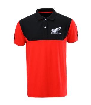 Honda Racing póló piros-fekete