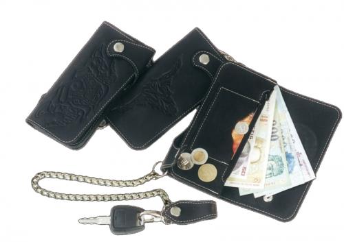 Pénztárca Bőr pénztárca , 3 részes