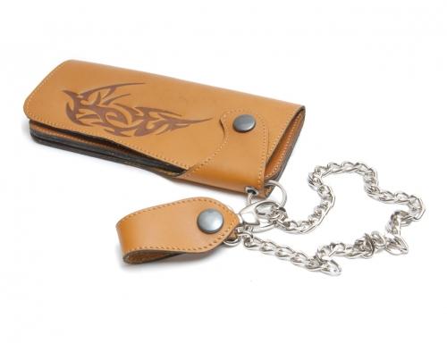 Pénztárca Bőr pénztárca, 2 részes