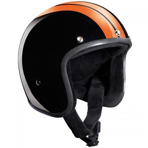 Race Jet fényes fekete/narancs