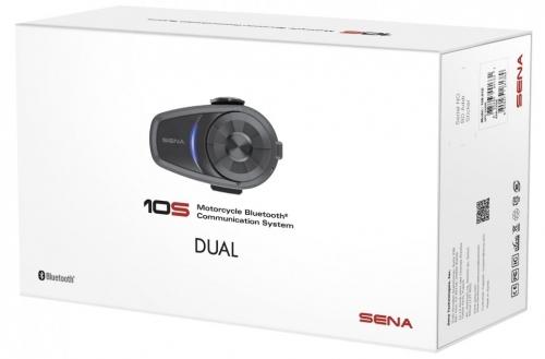 SENA 10S-DUPLA SZETT Bluetooth 4.1 sztereó kommunikációs szett univerzális mikrofon kittel 10S-01D