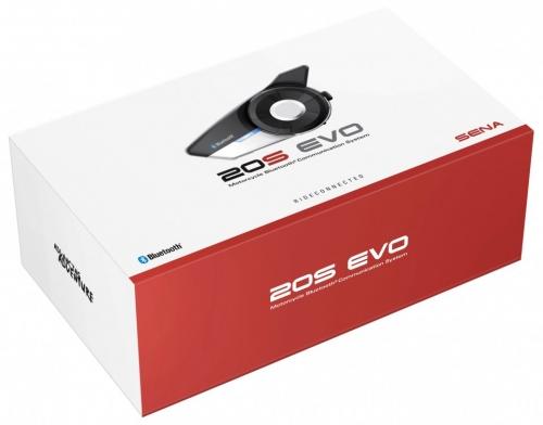 SENA 20S EVO Bluetooth 4.1-es HD hangminőségű kommunikációs szett 20S-EVO-01