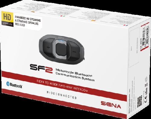 Sena SF2 Bluetooth kapcsolat 2 pár hangszóróval SF2-02