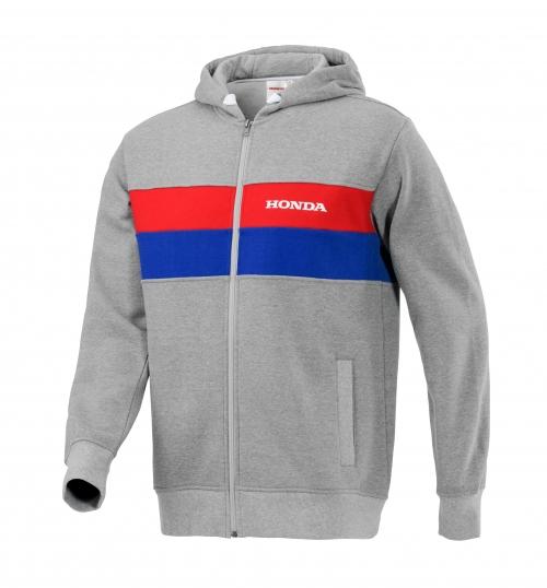 Honda Origine kapucnis pulóver, szürke 2038523011