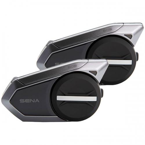 Sena 50S dupla kommunikációs rendszer MESH 2.0 és Bluetooth 5 technológiával  50S-01D