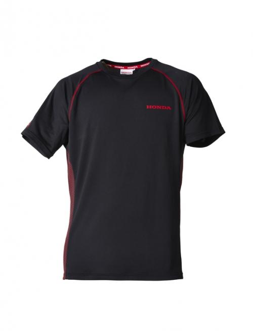 Férfi póló, fekete 08MLW-20G-TB