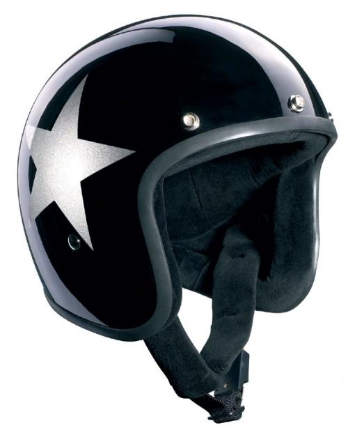 BlackStar Jet fekete/ezüst csillag