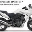Honda CBF 600/1000 F - Ready Lux ülések Honda CBF 600/1000 F
